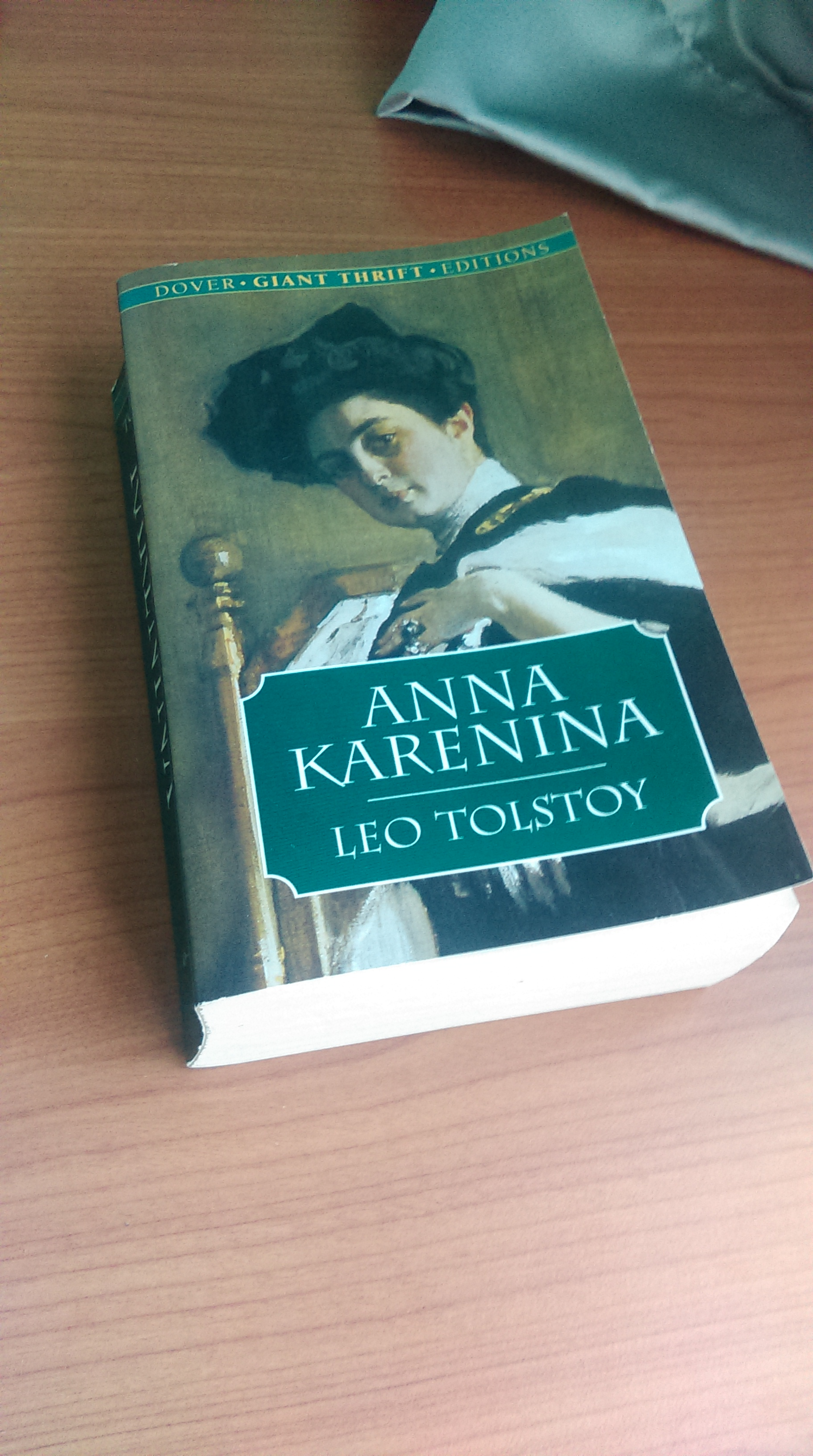 anna karenina thesis Living for the soul: dolly's heroism in anna karenina a thesis presented to the department of english college of liberal arts and sciences and.